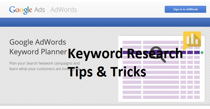 Keyword Research Tips