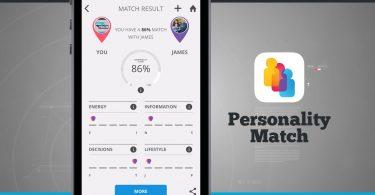 PersonalityMatch App