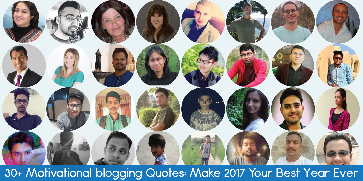 Motivational Blogging Quotes
